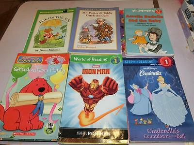 Lot 60 Books Early Readers 1st - 3rd Grade Level 1 2 3 4 Chapter Books Summer