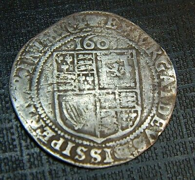 Stuart Period 1603 Dated James 1St Silver Sixpence . First Bust.