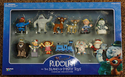 Rudolph and The Island of Misfit Toys Figurine Collection ~ 2001 Playing Mantis