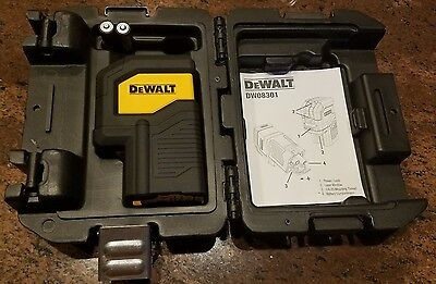 Dewalt Dw08301 Self Leveling 3-Spot Laser Level