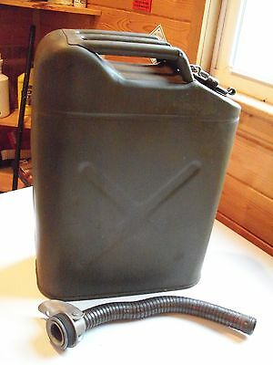 US Jerry Gas Metal Can US Military 5 Gallon Army Green