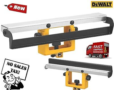 NEW DEWALT DW7029 Wide Miter Saw Stand Material Support and Stop