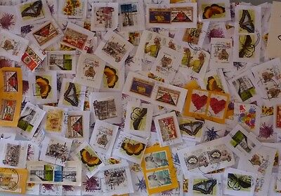 Australia Kiloware 225g Stamps New $1 Issues Comm's Only On Paper Used