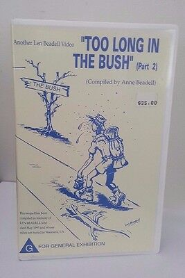 Too Long in the Bush (Part 2) Len Beadell VHS Video