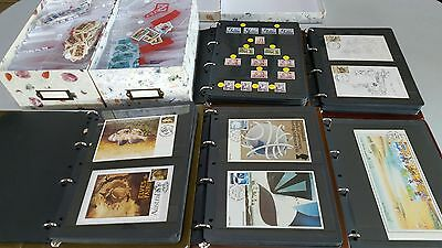 Collection of mainly Australian stamps with some New Zealand and Norfolk Island
