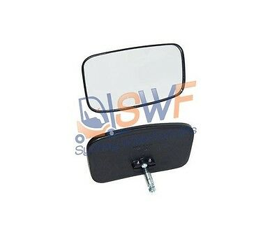 2 X Forklift Mirrors Convex Wide View. Bobcat Golf Cart Excavator