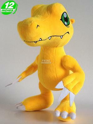 Big 30CM Digimon Adventure Agumon Plush Stuffed Doll 12'' DAPL8003