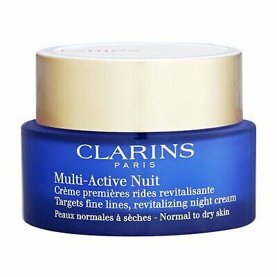 Clarins Multi-Active Crema de Noche (Piel Normal a Seca) 1.7oz, 50ml