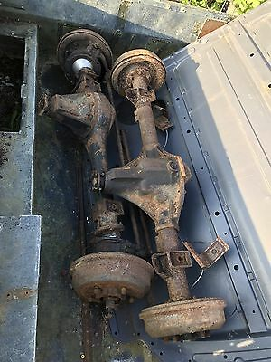 Land Rover Series 3 Rear Salisbury Axle and Standard Front Axle