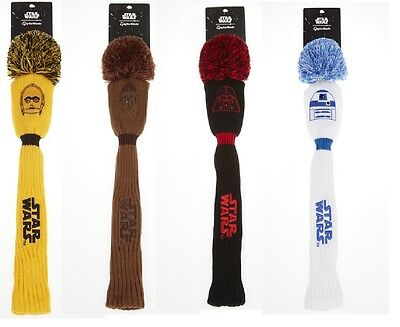 TaylorMade Ltd Ed Star Wars Pom Driver Headcovers - Darth,Storm,Yoda + More!