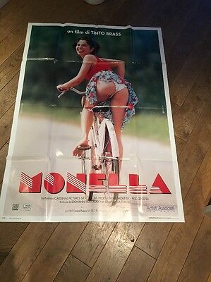 Original erotic frivolous lola Film Poster Monella tinto brass