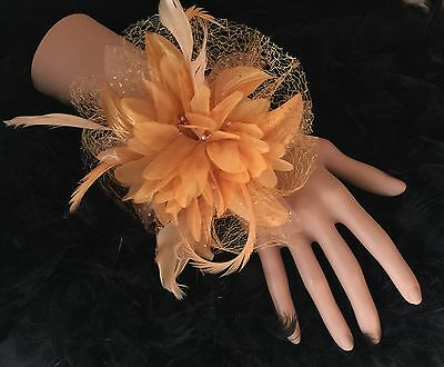 Gold Flower Bead Wrist Corsage Weddings,Bride, Bridesmaids, Flower Girls,Proms