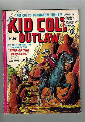 KID COLT OUTLAW COMIC No. 26 British edition 1/-
