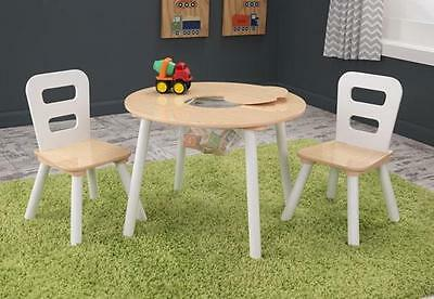 Kidkraft Round Storage Table & Chair Set, table and chair sets