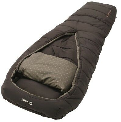 Outwell 3 Season Single Mummy Cardinal Sleeping Bag Camping Equipment