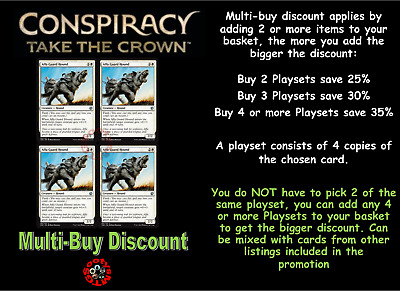 MTG Conspiracy Take the Crown CN2 Free 1st Class Post Choose your Rare Card
