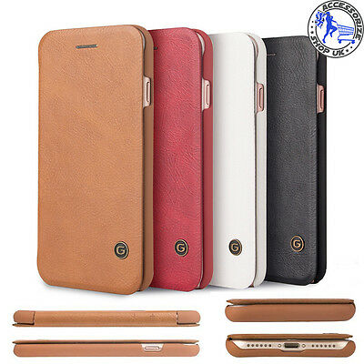 Luxury for IPHONE Case Genuine PU Leather Cover Quality Flip Wallet 5 6S 6 7 7+