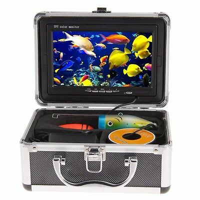 "Excellent! 30m Fish Finder Underwater Ice Fishing Camera 7"" Color HD Monitor"