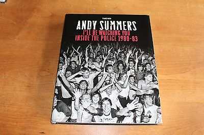 The Police  / Book Inside The Police by Andy Summers 375 pages Hard Cover
