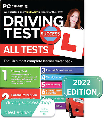 Theory Test Success All Tests and Hazard Perception 2019 PC DVD-ROM