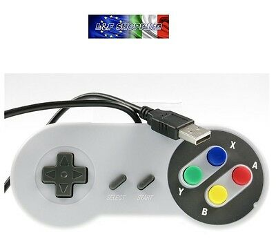 Snes usb Famicom Colorful super nintendo style controller for pc / mac joystick