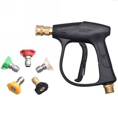 "18""/19"" High Pressure Power Washer Spray Nozzle Water Hose Wand Attachment Tools"