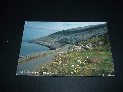 IRISH. POSTCARD  THE BURREN Co CLARE  IRELAND