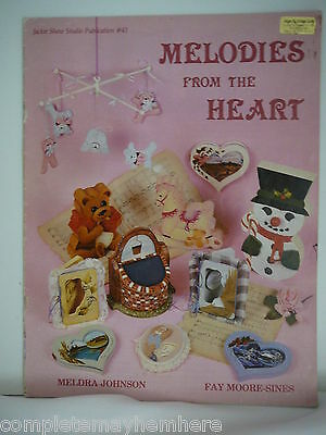 Melodies from the Heart #43 by Meldra Johnson & Fay Moore-Sines - tole painting