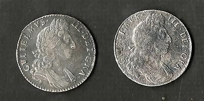 Shipwreck Coins The Association x2 William III Halfcrowns 1697 With Information