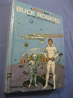 BUCK ROGERS, IN THE 25th CENTURY POP UP BOOK Ist EDITION AND 1st PRINT ... RARE