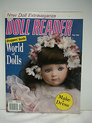 Doll Reader May 1991 World of Dolls, Black Fashion dolls, Throw pillows, costume