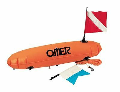 Boa New Torpedo Omer Sub Fishing Free Diving Float Signaling With Rope Floating