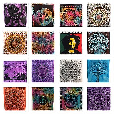 Indian Tapestry Wall Hanging Mandala Hippy Poster Size Bohemian Cover Throw