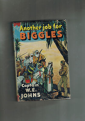 W. E. JOHNS Another Job For Biggles - 1st ed 1951 in dustwrapper G