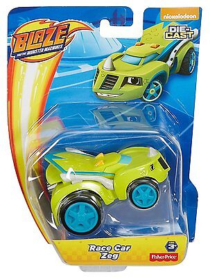 Fisher Price Nickelodeon Blaze And The Monster Machines Race Car Zeg