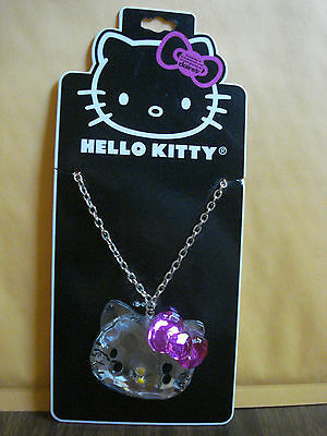 Hello Kitty Claire's exclusive prism necklace - mint on card