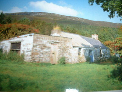 NORTHERN IRELAND  SLIEVE GULLION Co ARMAGH POSTCARD