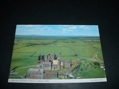 IRELAND  POSTCARD AERIAL VIEW OF ROCK OF CASHEL Co TIPPERARY