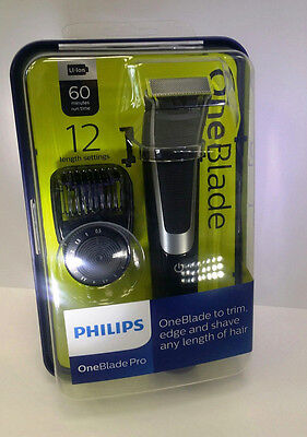 Philips OneBlade Pro Trim Edge Shave - QP6510/25