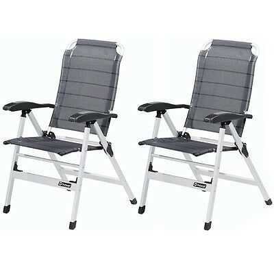 2 X Outwell Ontario Folding Portable Camping Chairs