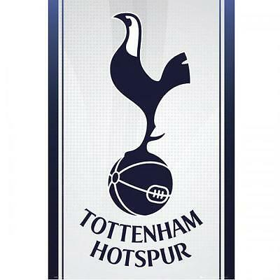 Official Licensed Football Product Tottenham Hotspur Poster Crest 12 Wall Fan