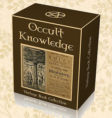 765 Occult Books on DVD - Alchemy Astrology Witchcraft Wicca Pagansim Spells H1