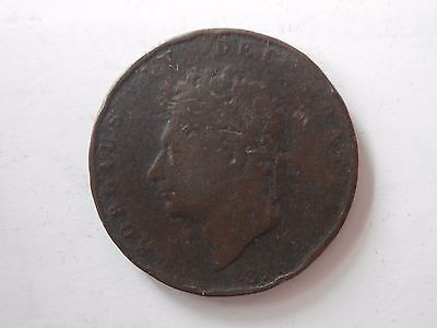George IV Copper Half-Penny 1/2d 1826 Halfpenny Clear Date Regency England