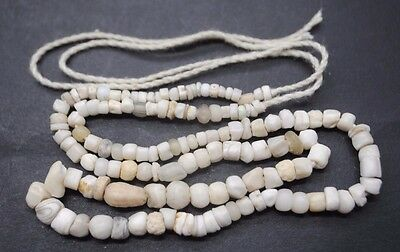 Ancient Romano Egyptian Glass And Stone Bead Necklace 1St Century Ad