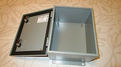 New Genuine Bel Hinged Electrical Control Box Enclosure S100806 Type 4/4X/12 – M