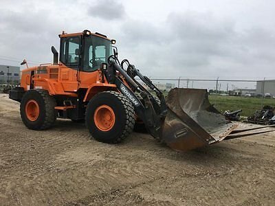 doosan with air cond and autoshift