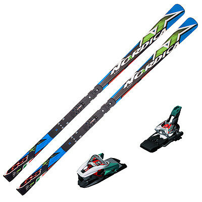 Nordica Dobermann GS WC EDT 190cm Skis w/ Piston Plate + Xcell 16 Bind 0A323600K