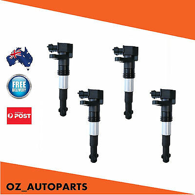4x Alfa Romeo Ignition Coils for 156 GT GTV Spider JTS 46794782 2002-2005 2.0L