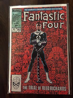 Fantastic Four John Byrne collection - 258,259,260,262,262  - great condition !!