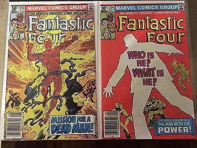 Fantastic Four John Byrne collection - 233,234,235,236,237 - great condition !!